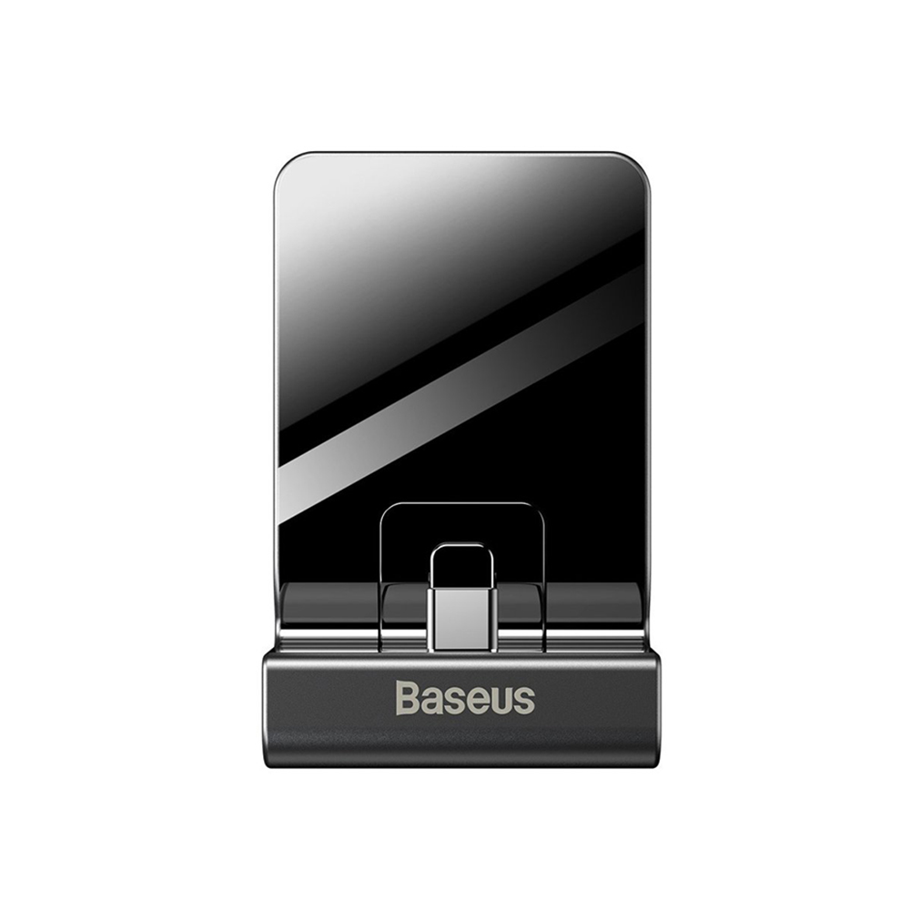 Baseus SW Adjustable Charging Stand GS10 for Nintendo Switch Μαύρο (WXSWGS10-01)
