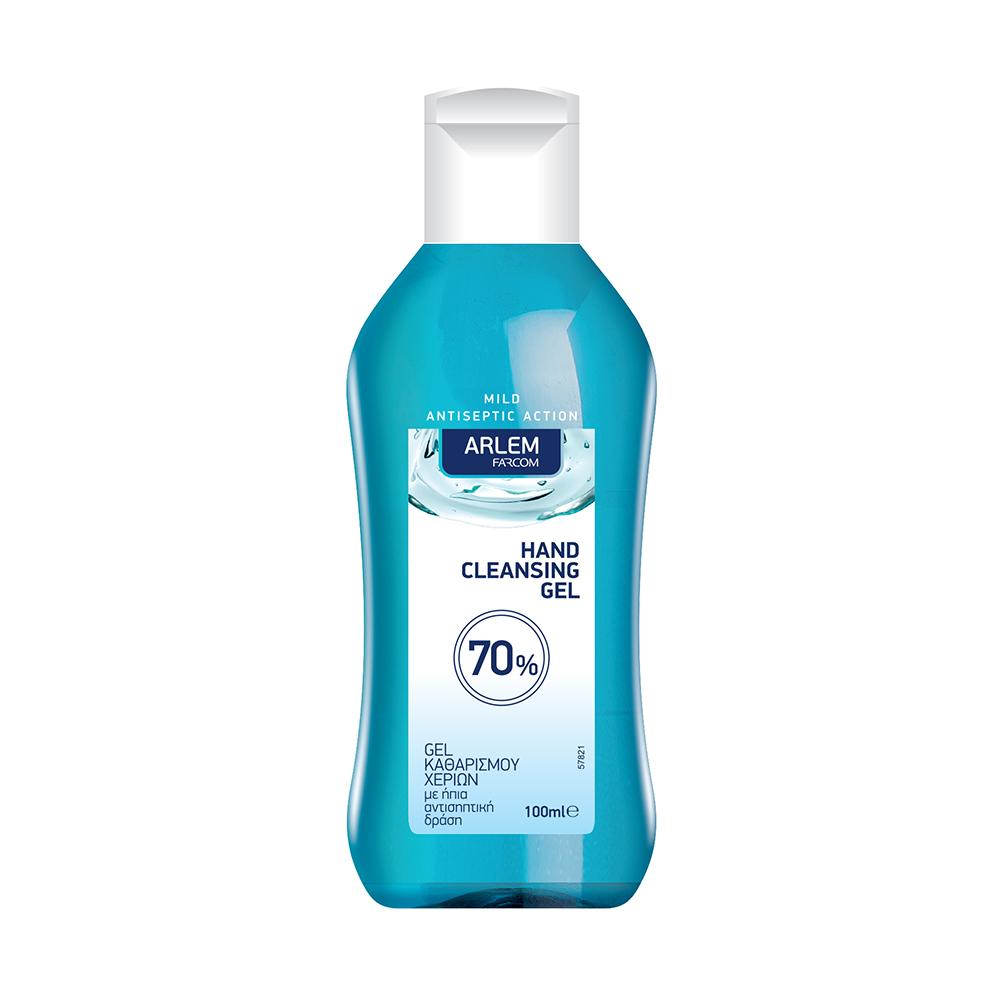 Αντισηπτικό Gel Καθαρισμού Χεριών Arlem 100 ml