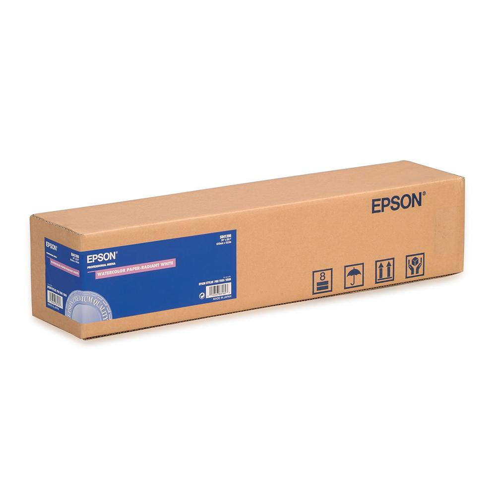 Χαρτί EPSON WaterColor Paper - Radiant White Roll, 24