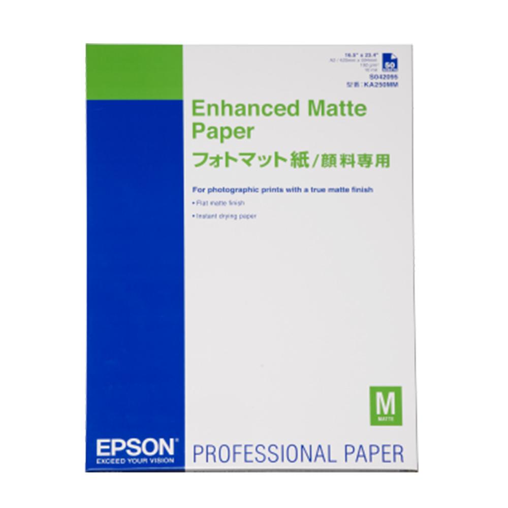 Χαρτί EPSON Enhanced Matte Paper, DIN A4, 192g/m², 250 Sheets (C13S041718) (EPSS041718)