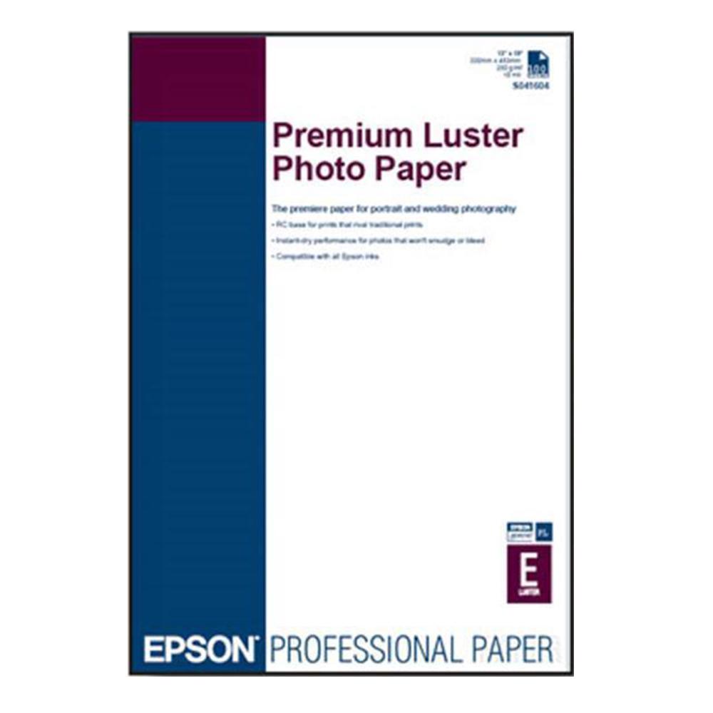 Χαρτί EPSON Premium Luster Photo Paper, DIN A3+, 250g/m² (C13S041785) (EPSS041785)