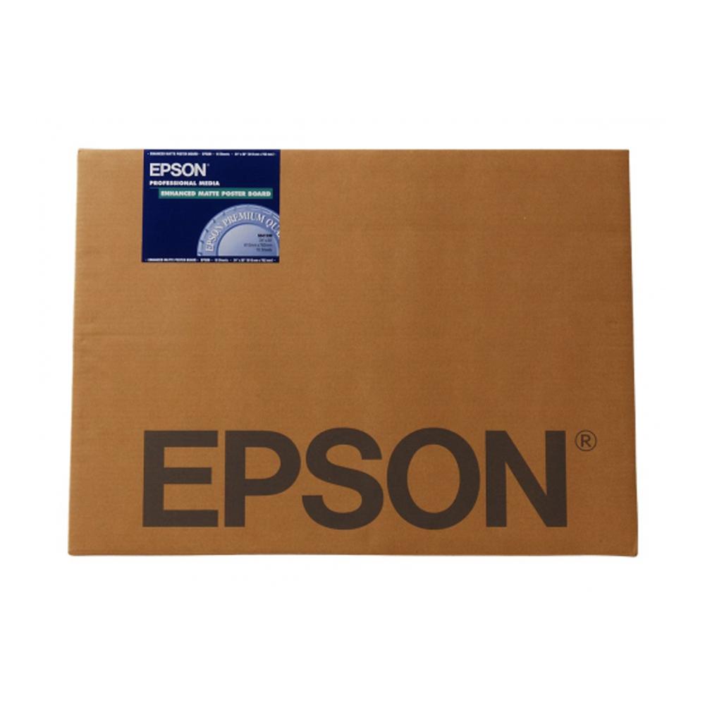 Χαρτί EPSON Enhanced Matte Posterboard, DIN A3+, 800g/m², 20 Sheets (C13S042110) (EPSS042110)