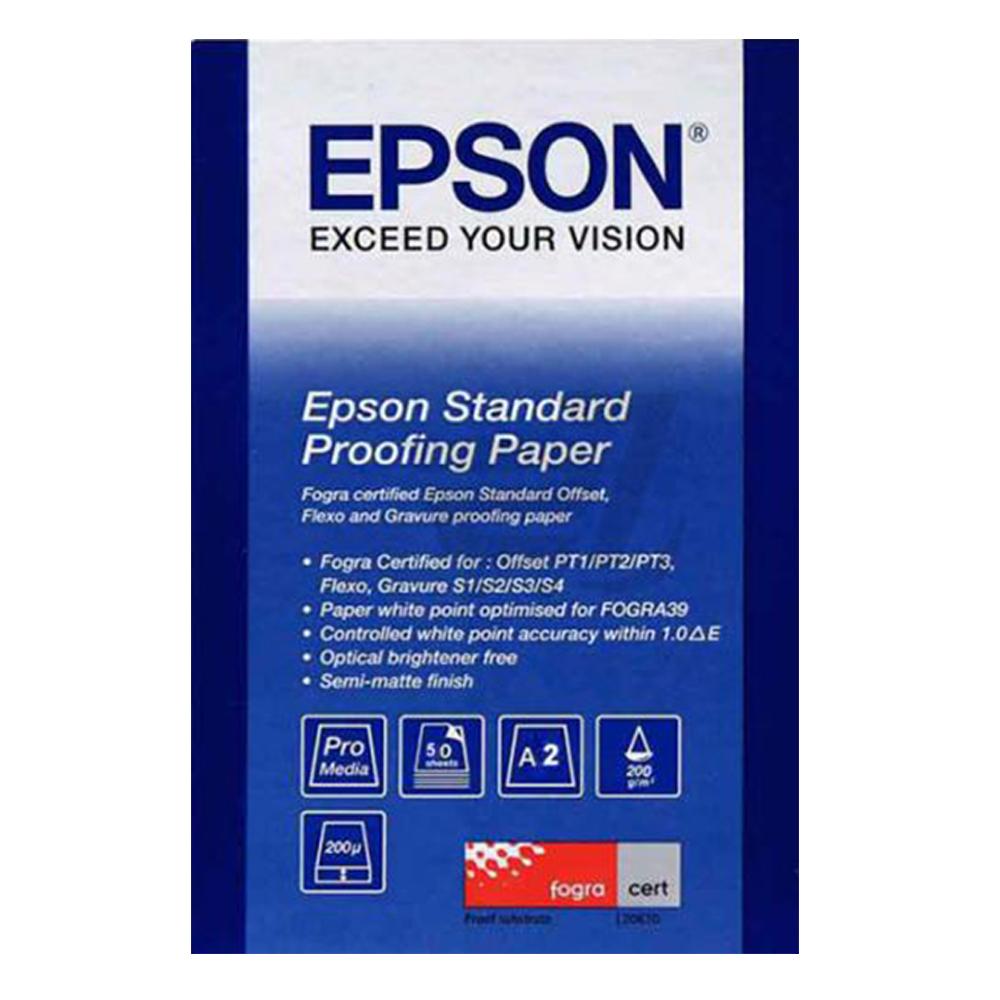 Χαρτί EPSON Standard Proofing Paper, DIN A2, 205g/m², 50 Sheets (C13S045006) (EPSS045006)