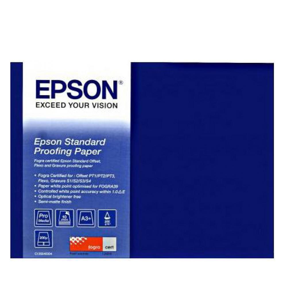 Χαρτί EPSON Standard Proofing Paper, DIN A3+, 100 Sheets (C13S045115) (EPSS045115)