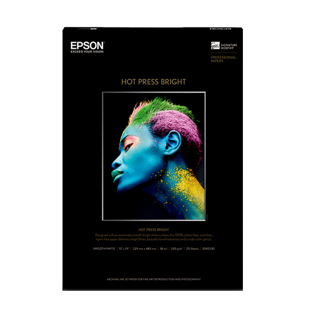 Χαρτί EPSON Fine Art Cotton Smooth Bright A4 25 Sheets (C13S450274) (EPSS450274)