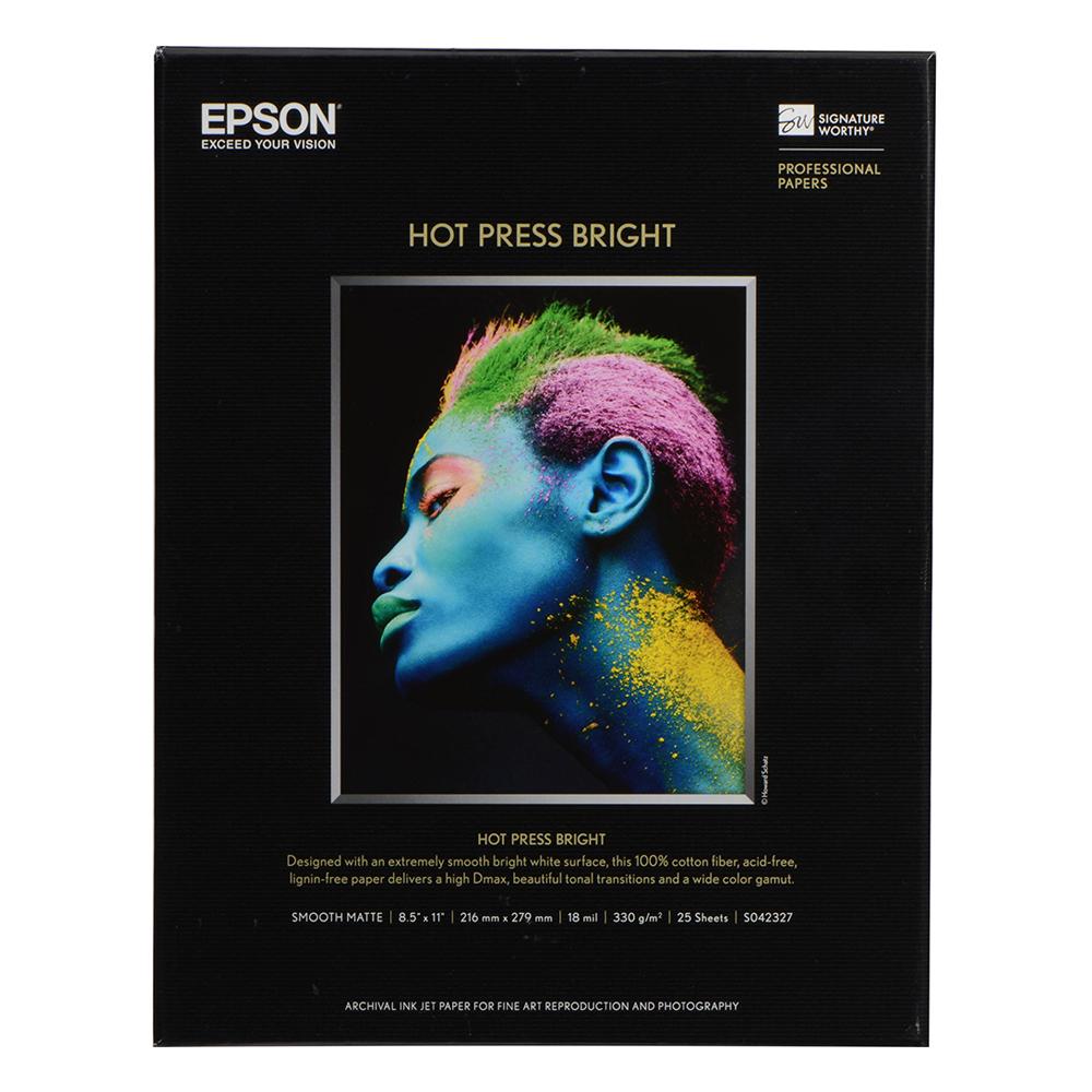 Χαρτί EPSON Fine Art Cotton Smooth Bright A3+ 25 Sheets (C13S450275) (EPSS450275)