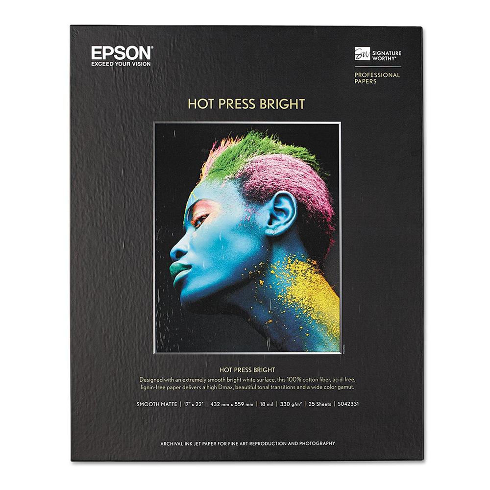 Χαρτί EPSON Fine Art Cotton Smooth Bright A2 25 Sheets (C13S450276) (EPSS450276)