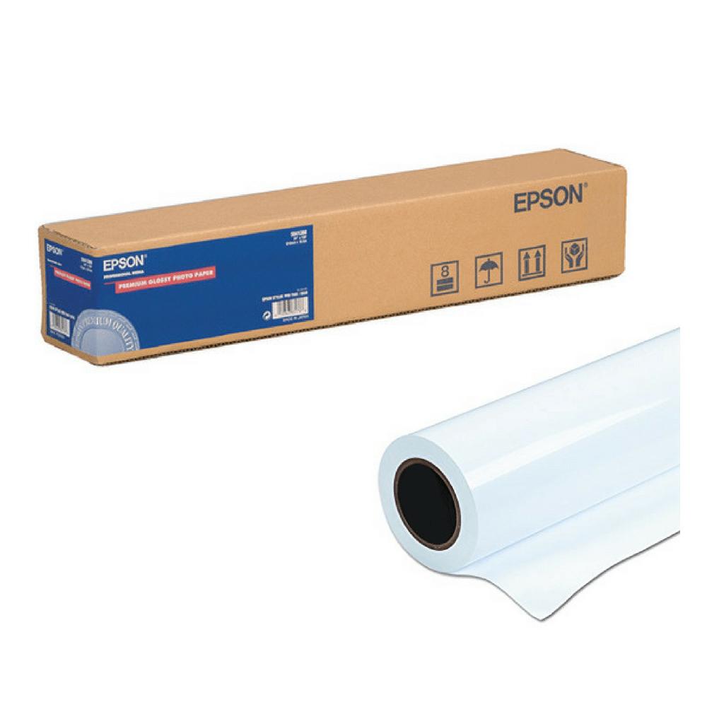 Χαρτί EPSON Premium Glossy Photo Paper Roll 24″ x 30,5m (C13S041390) (EPSS041390)