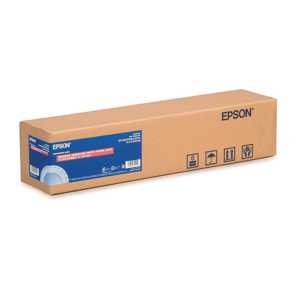 Χαρτί EPSON Premium Semigloss Photo Paper Roll 24″ x 30,5m (C13S041393) (EPSS041393)
