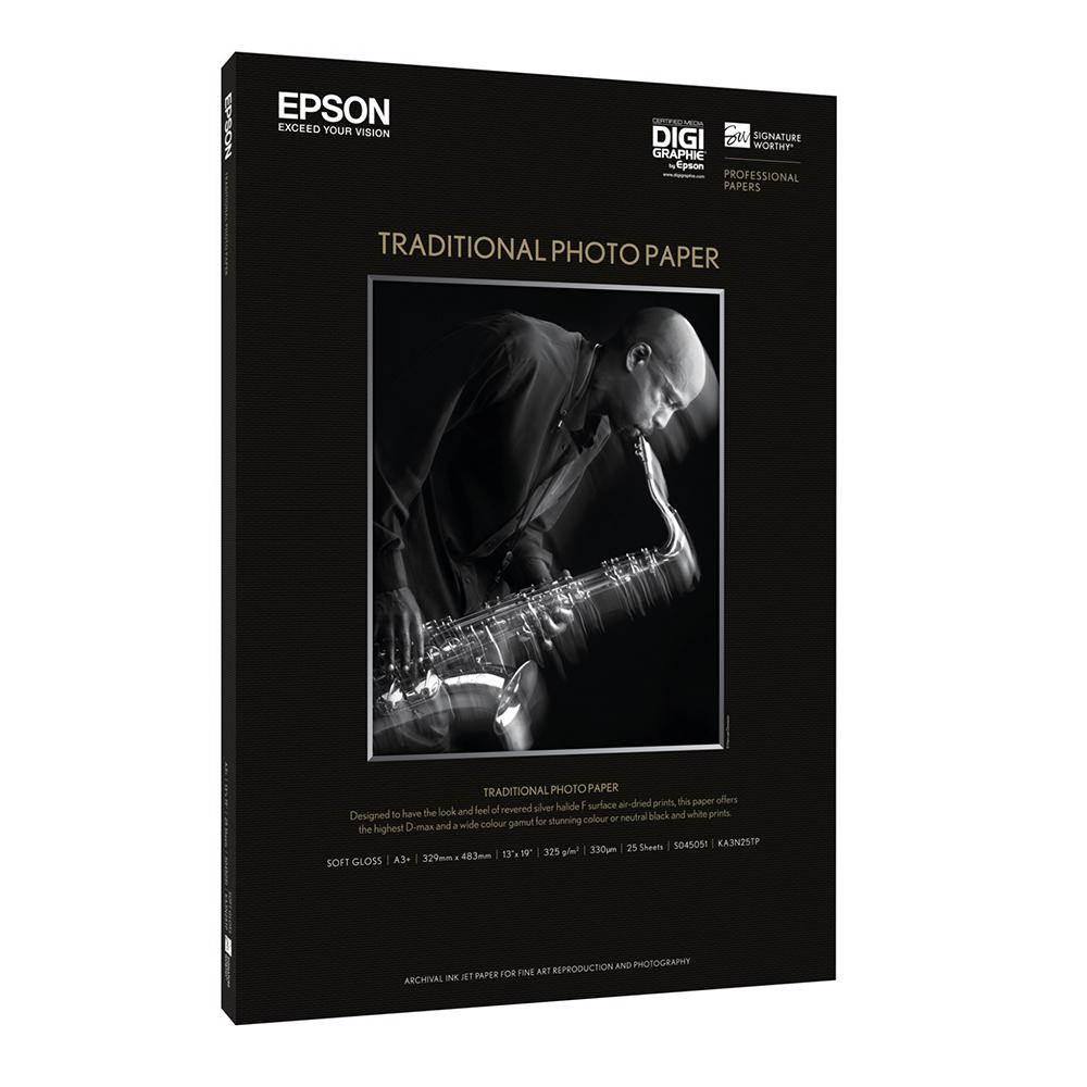 Χαρτί EPSON Traditional Photo Paper 44″x 15m (C13S045056) (EPSS045056)