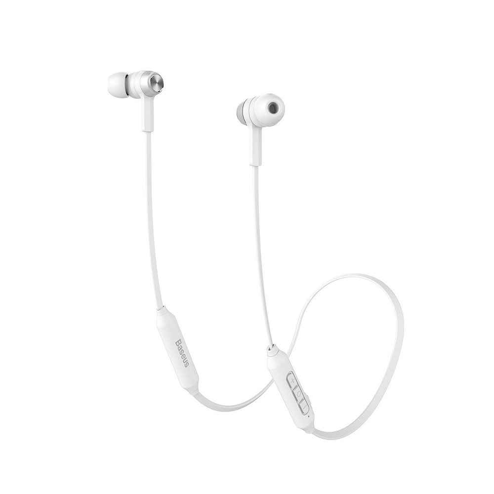 Baseus Encok S06 In-ear Bluetooth Handsfree White (NGS06-A02) (BASNGS06-A02)