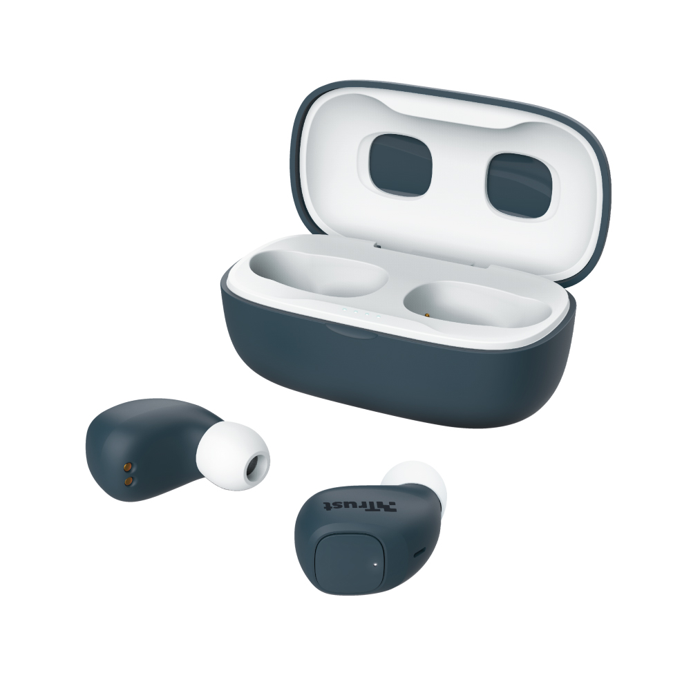 Trust Nika Compact Bluetooth Wireless Earphones - blue (23903) (TRS23903)