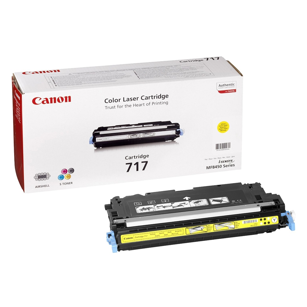 CANON MF 8450 YELLOW TONER CRTR (4k) (2575B002) (CAN-717Y)