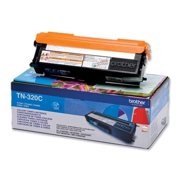 Toner Brother TN-320C Cyan (TN-320C) (BRO-TN-320C)