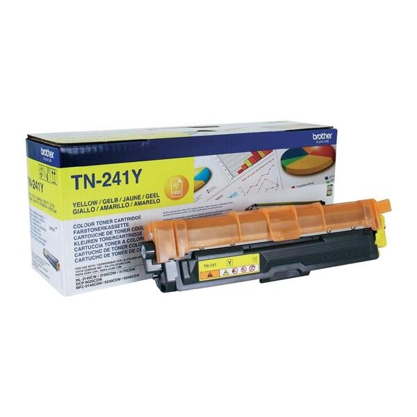 Toner Brother TN-241Y Yellow (TN-241Y) (BRO-TN-241Y)