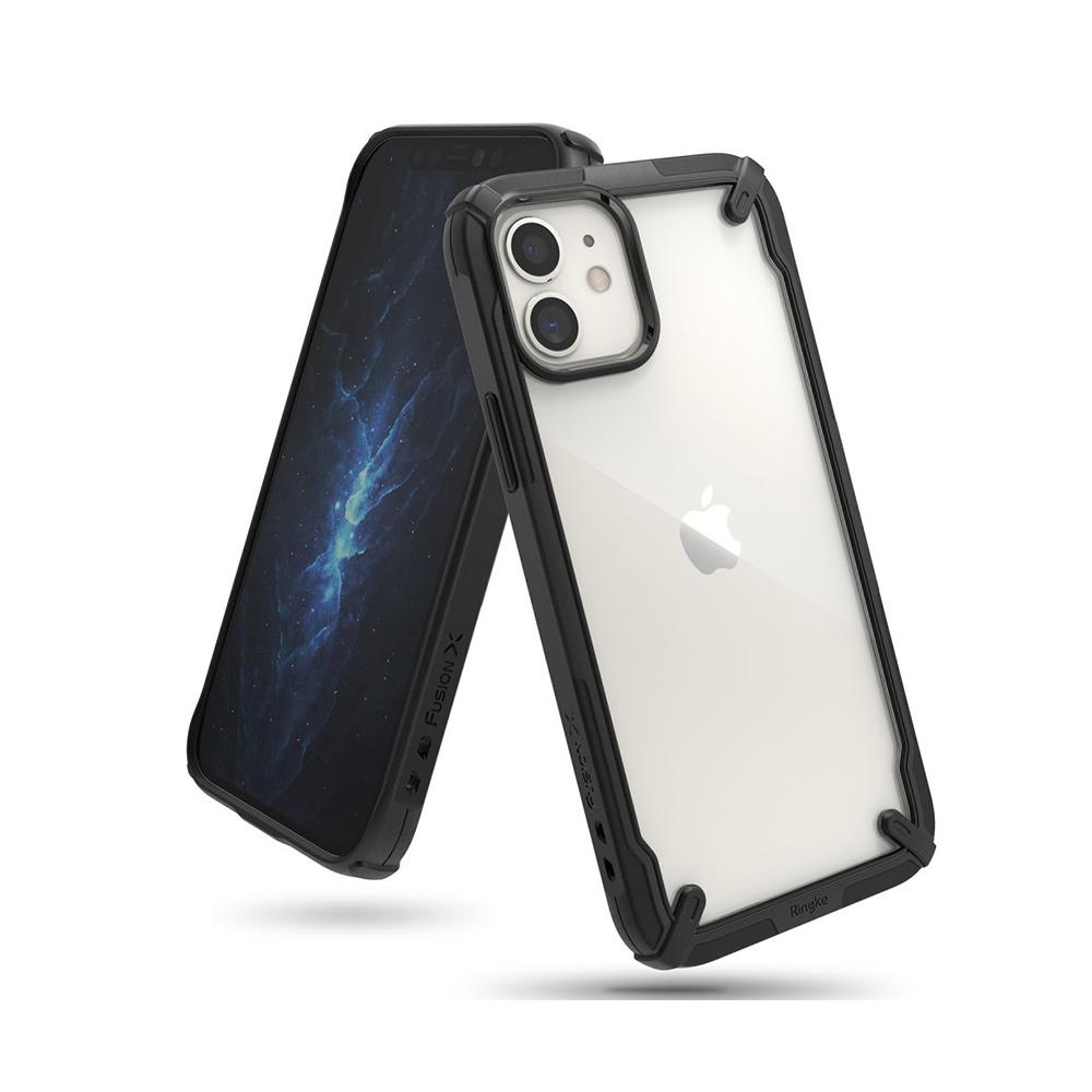 Ringke Fusion X iPhone 12 Mini Black (FUAP0023) (RINFUAP0023)