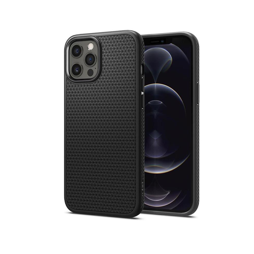 Spigen Liquid Air iPhone 12 Pro Max Matte Black (ACS01617) (SPIACS01617)
