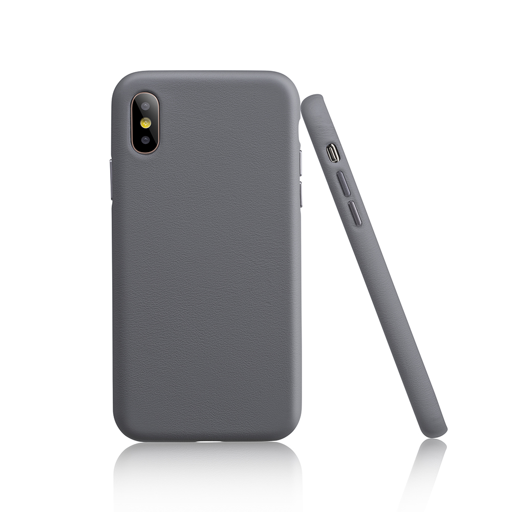 Garbot Corium Nappa Leather Case for IPhone XS Grey (SC-NFE-00016) (GARSC-NFE-00016)