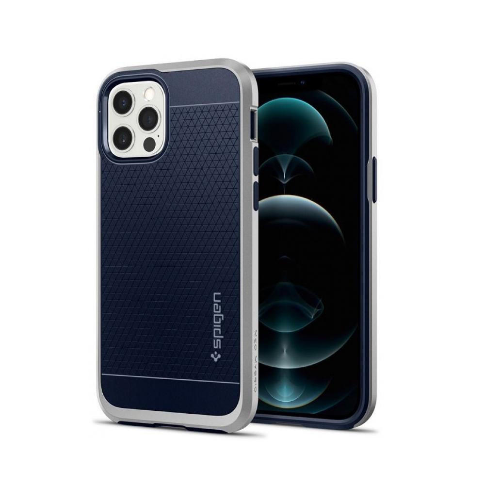 Spigen Neo Hybrid Iphone 12/12 Pro Satin Silver (ACS02254) (SPIACS02254)