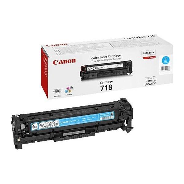 CANON LBP7200CDN CYAN TNR CRTR 718 (2.9k) (2661B002) (CAN-718C)