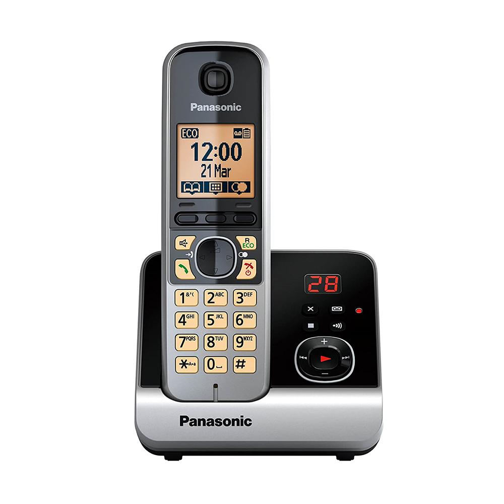 Ασύρματο Τηλέφωνο Panasonic KX-TG6721GB Grey (KX-TG6721GB) (PANKX-TG6721GB)