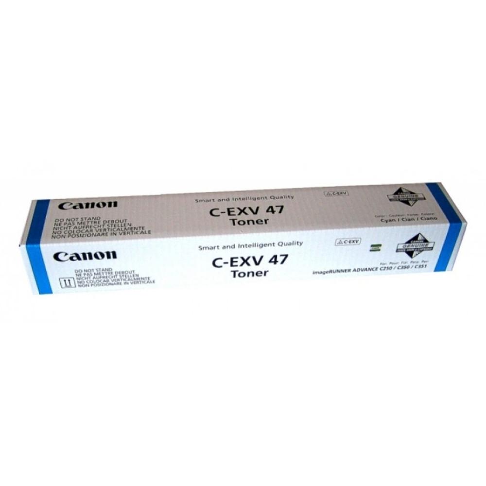 CANON IR C250I/350I/350P/351IF TONER CYAN C-EXV47 (8517B002) (CAN-T250C)