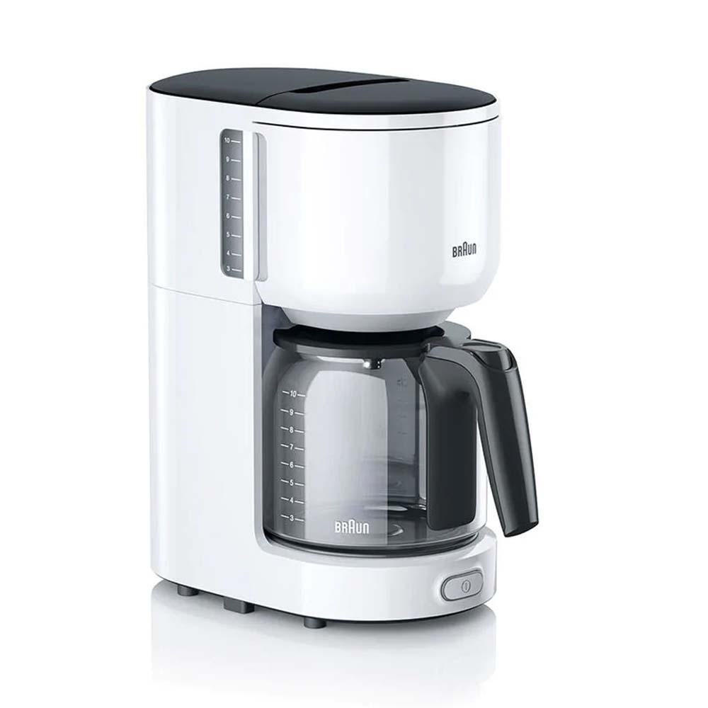 Καφετιέρα Φίλτρου Braun KF3120 PurEase White (KF3120) (BRAKF3120)