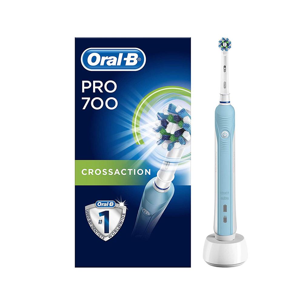 Ηλεκτρική Οδοντόβουρτσα Oral B Pro 700 CrossAction (700PRO) (BRA700PRO)