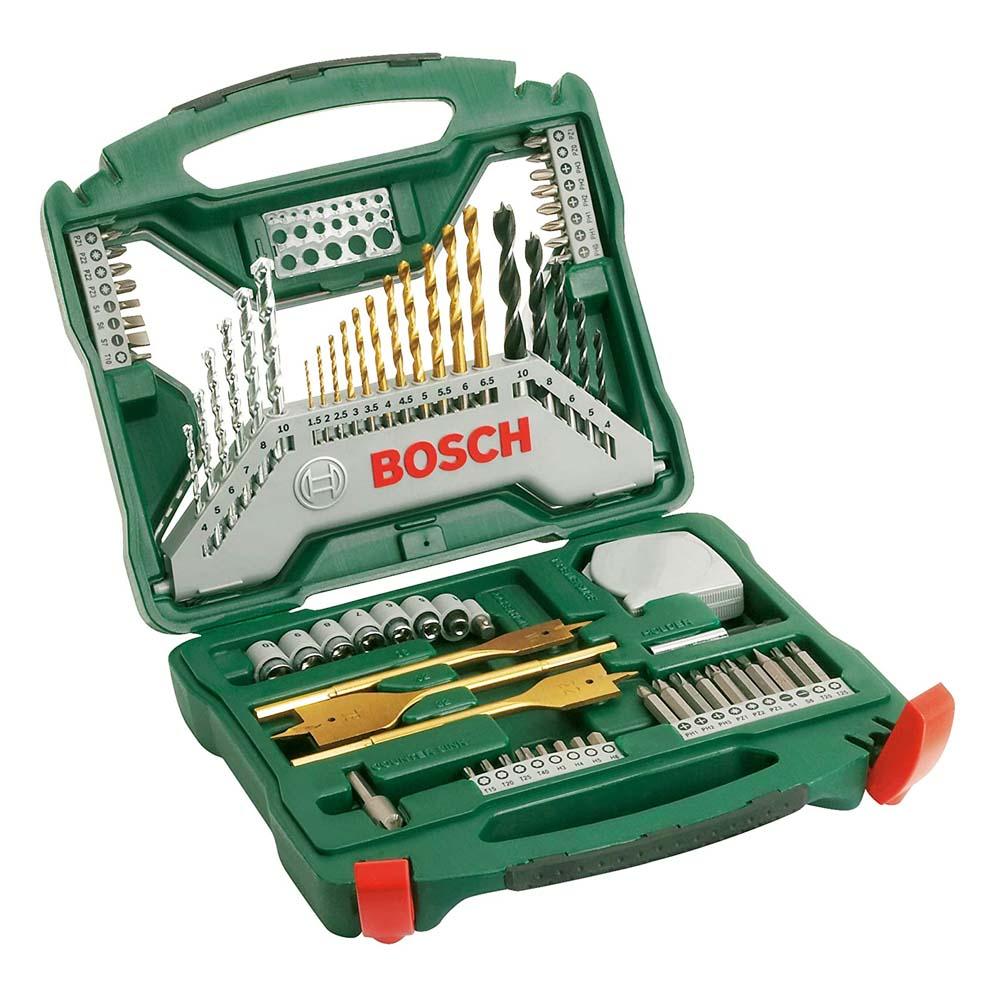 Bosch 70-piece X-Line Titanium set (2607019329)