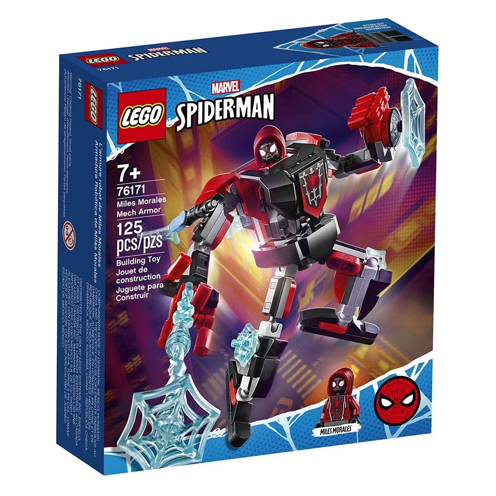 Lego Super Heroes: Spider-Man and Miles Morales Mech Armor Set Marvel (76171) (LGO76171)