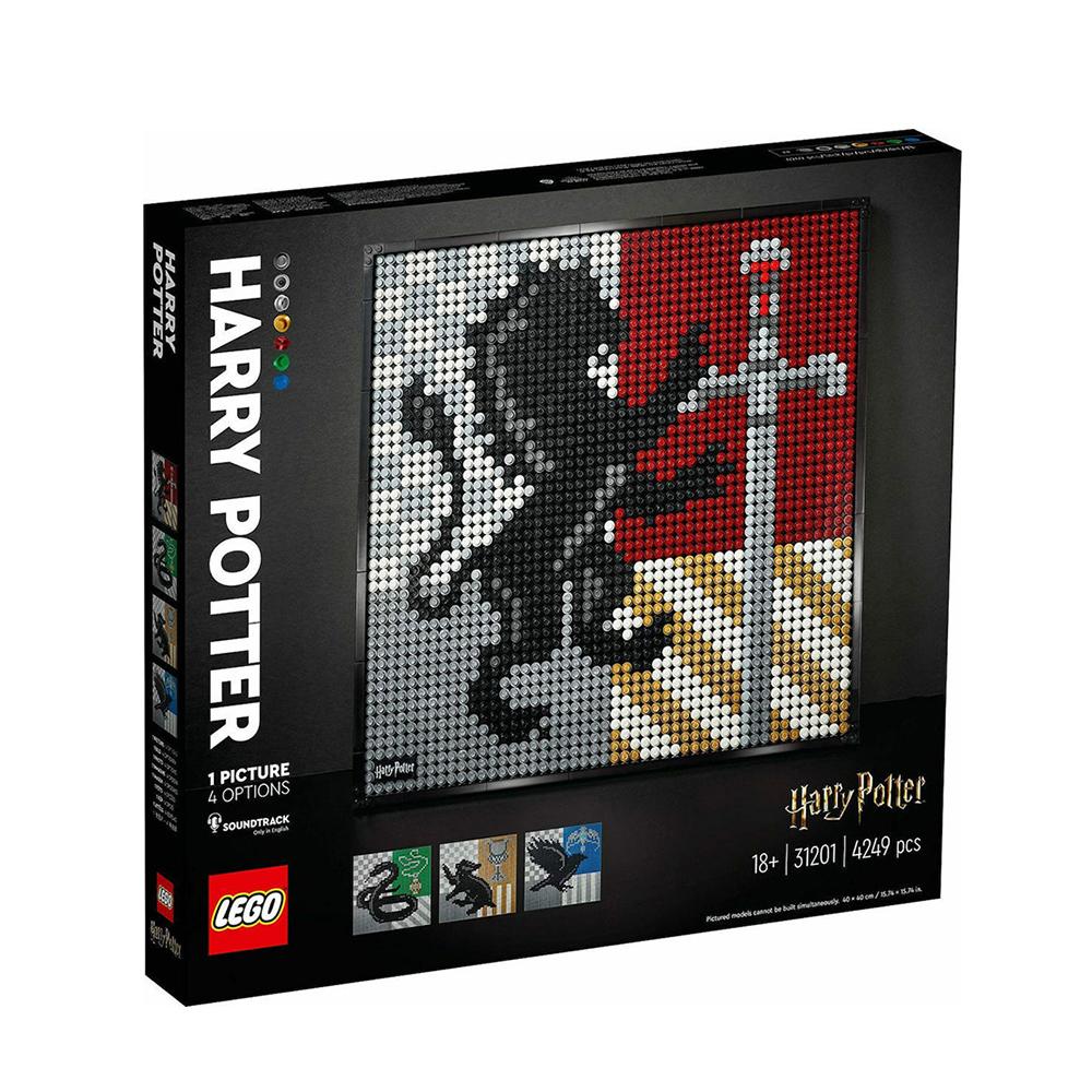 Lego Harry Potter: Hogwarts Crests Poster (31201) (LGO31201)
