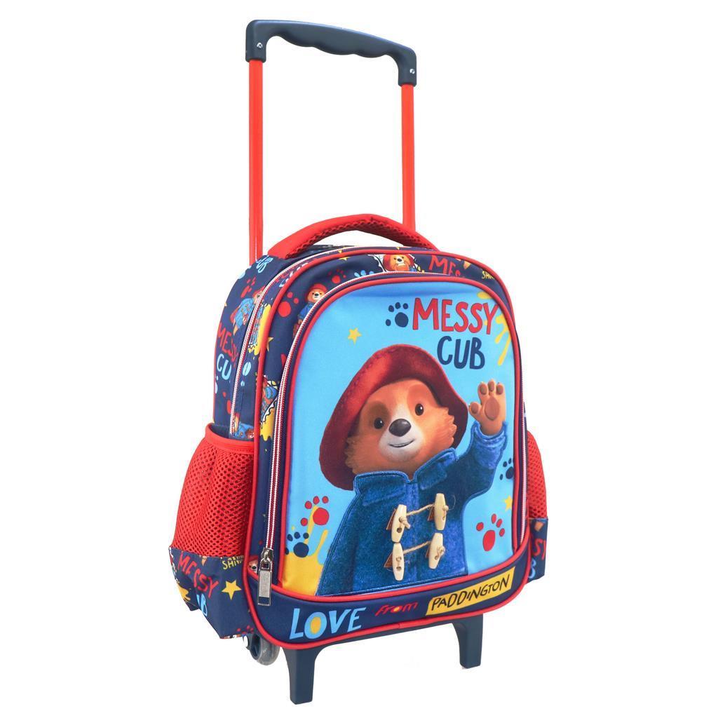 Τσάντα Τρόλλεϋ Νηπιαγωγείου Paddington με 2 Θήκες