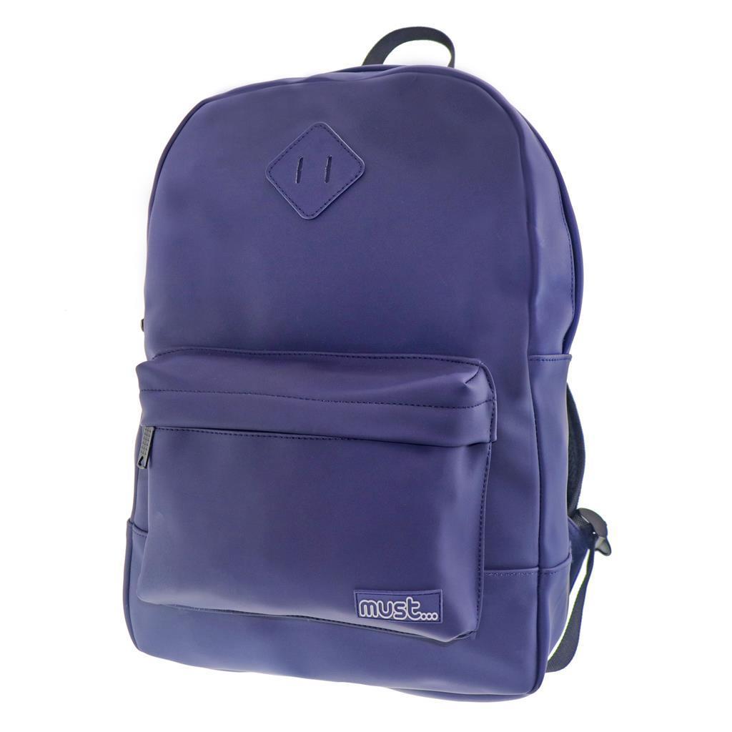 Τσάντα Πλάτης Εφηβική Must Townscape Backpacker Μπλε με 2 Θήκες