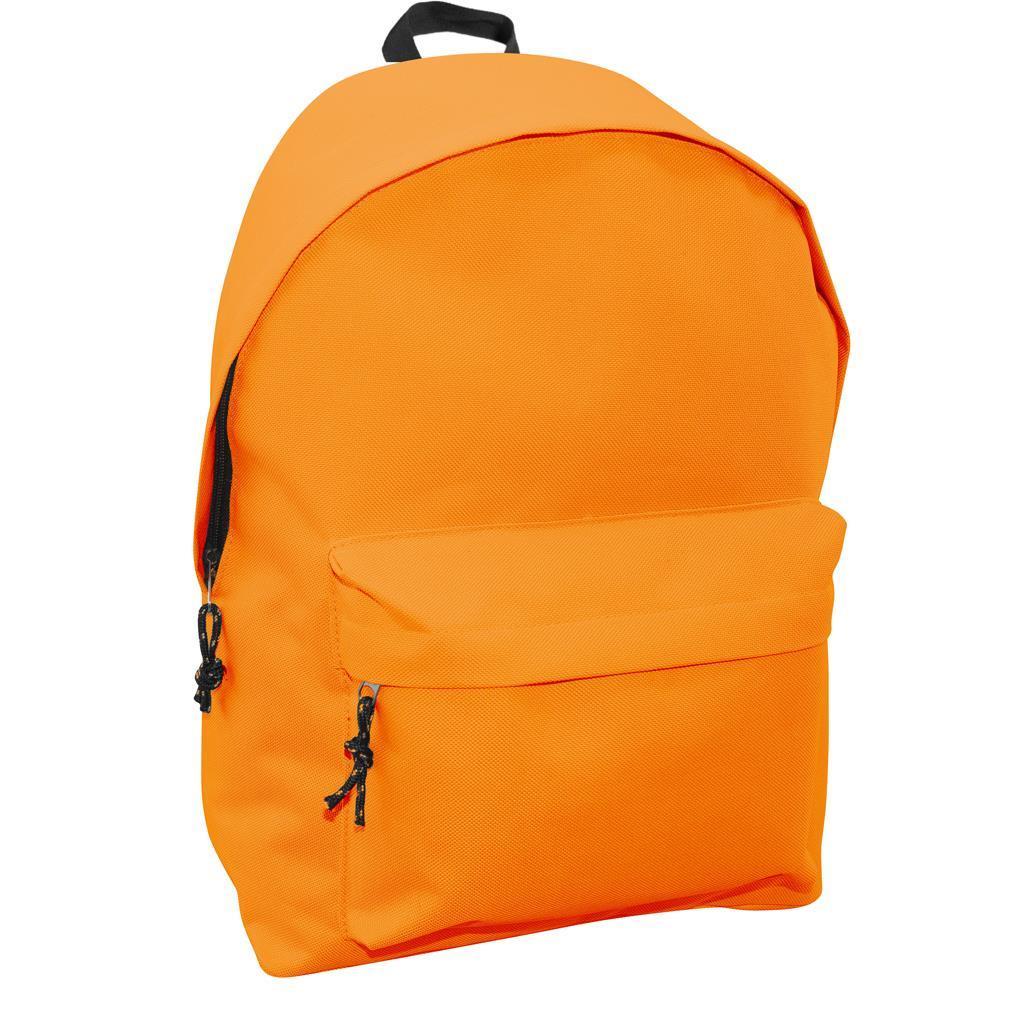 Τσάντα Πλάτης Εφηβική Mood Omega Πορτοκαλί με 2 Θήκες