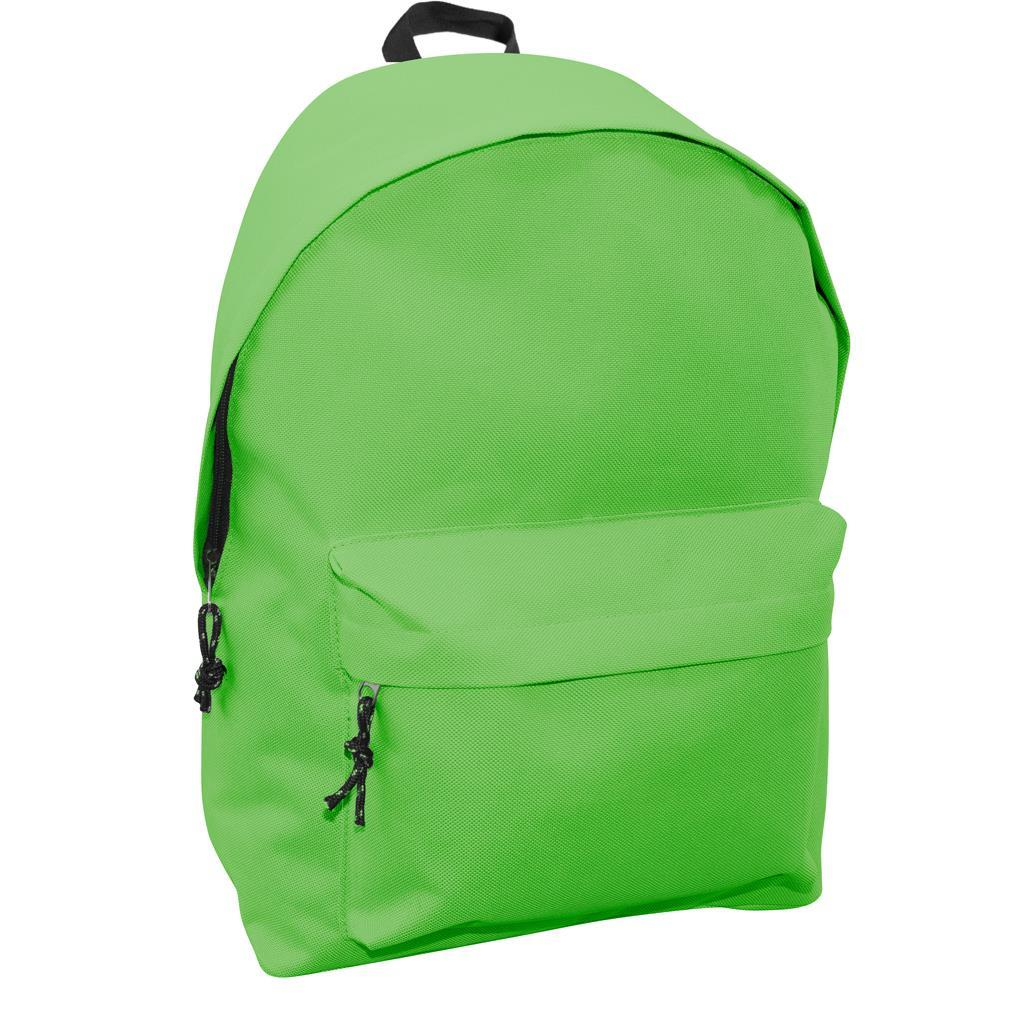 Τσάντα Πλάτης Εφηβική Mood Omega Πράσινη με 2 Θήκες