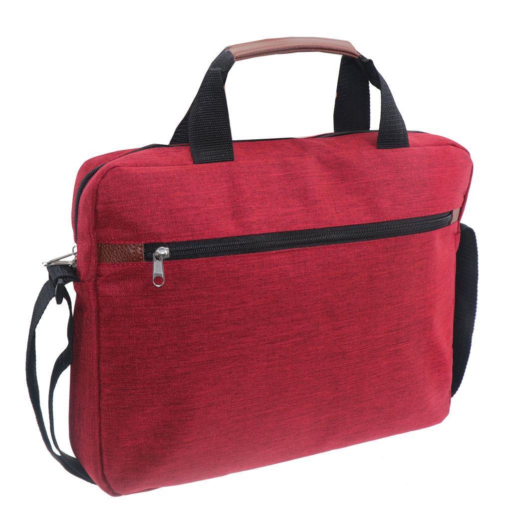 Τσάντα Laptop Mood Κόκκινη με 2 Θήκες