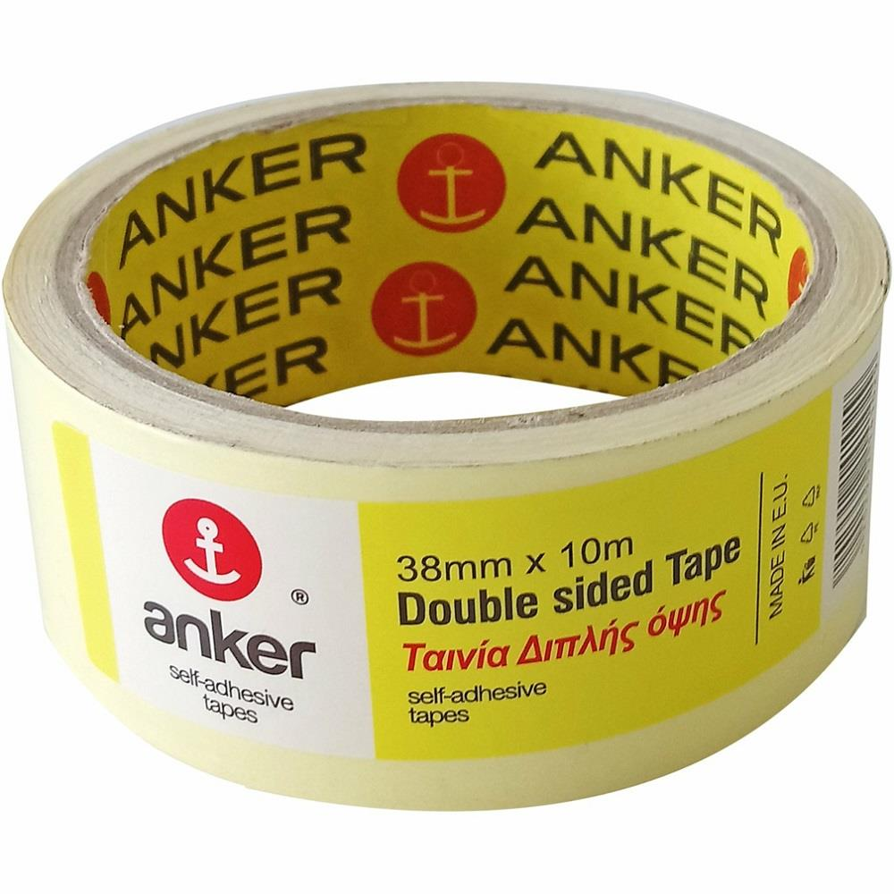 Ταινία διπλής όψης Anker 38mmx10m
