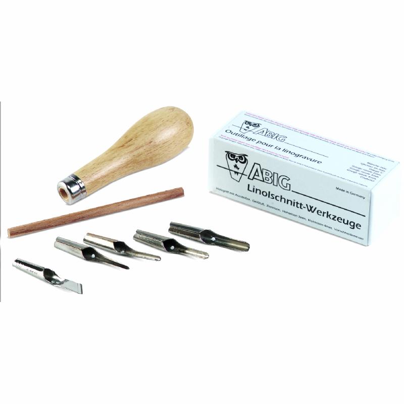 Εργαλεία ξυλογλυπτικής λινόλεουμ Efco 5 τεμ