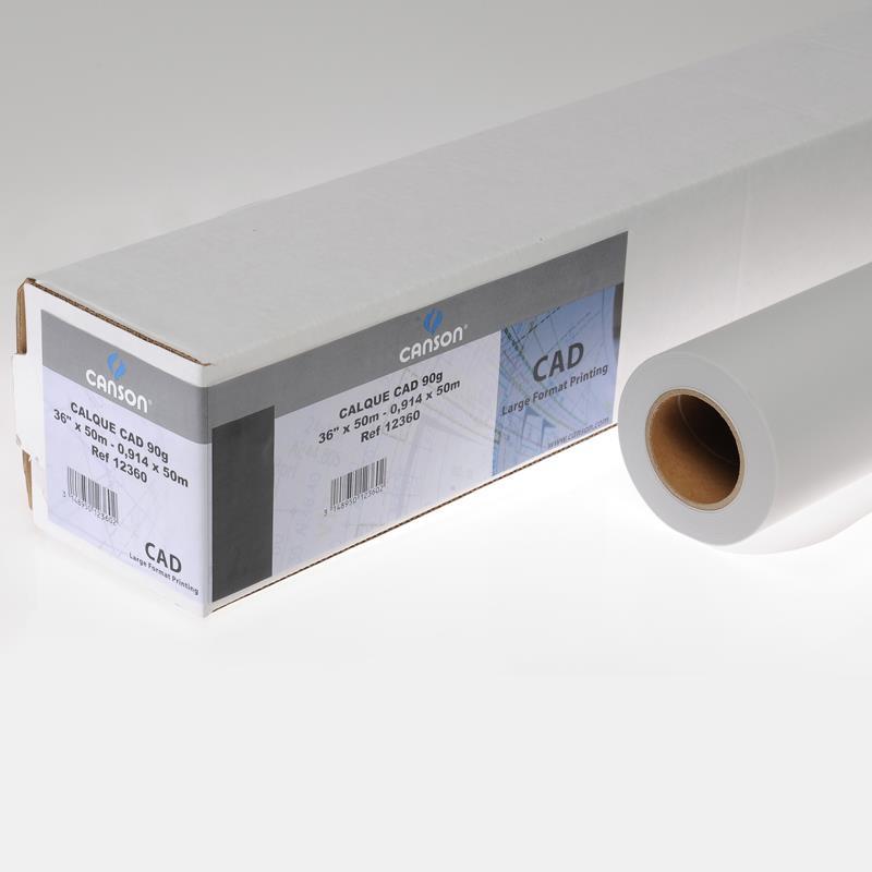Διαφανές πλότερ 0,42x50m Canson 90gr