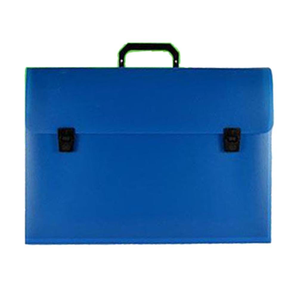 Τσάντα σχεδίου 30x40x5 μπλε