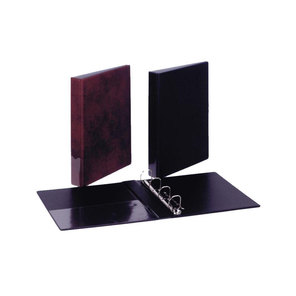 Ντοσιέ συλλογών 4 κρικ 32x26x4 μαύρο
