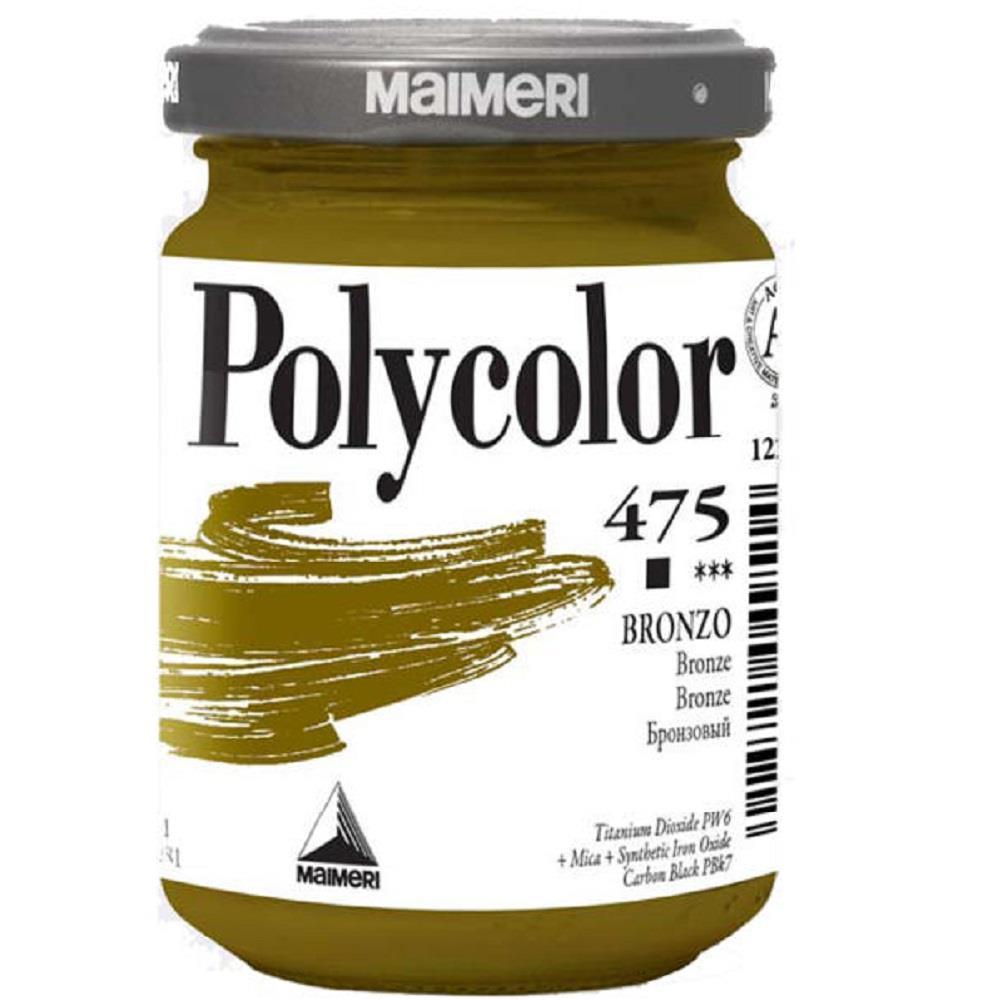 Ακρυλικό Maimeri Polycolor 140 ml 475 bronze
