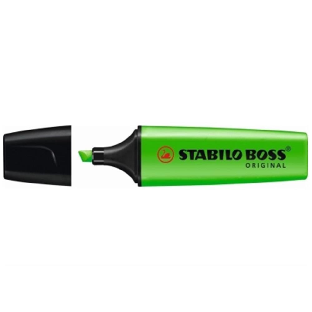 Υπογραμμιστής Stabilo boss πράσινο 33
