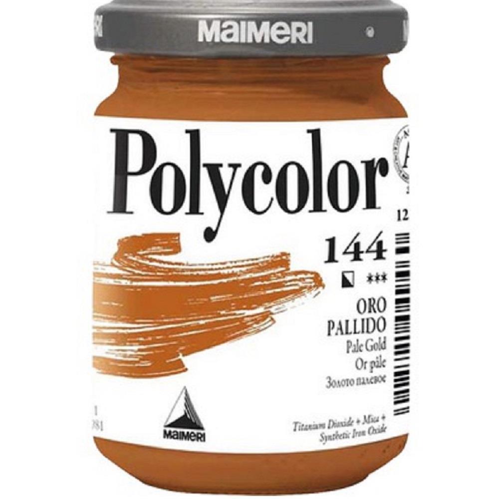 Ακρυλικό Maimeri Polycolor 140 ml 144 gold pale
