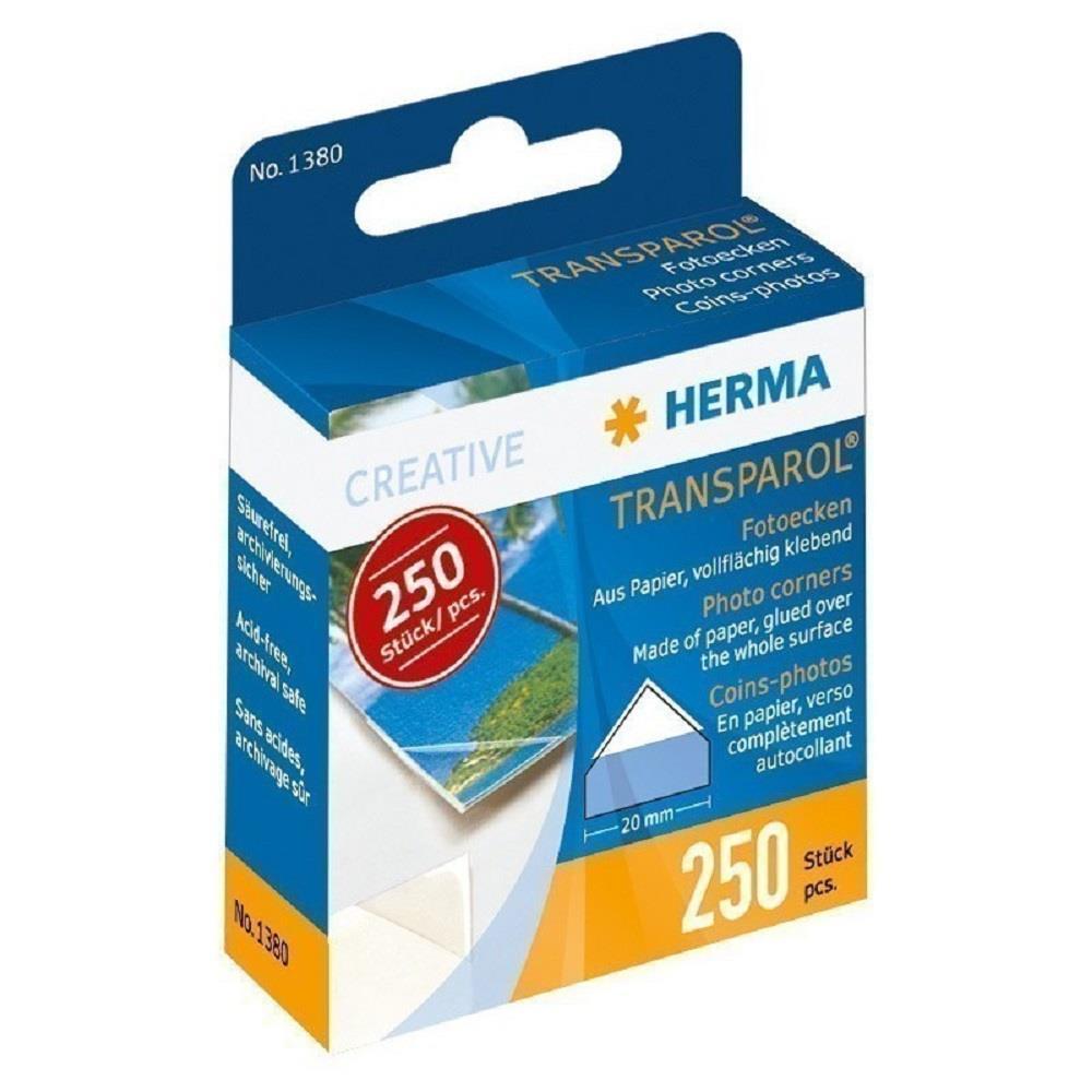 Γωνίες φωτογραφιών Herma 250 τεμ.