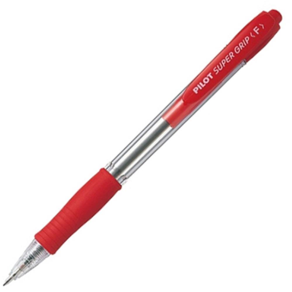 Στυλό Pilot super grip κόκκινο f