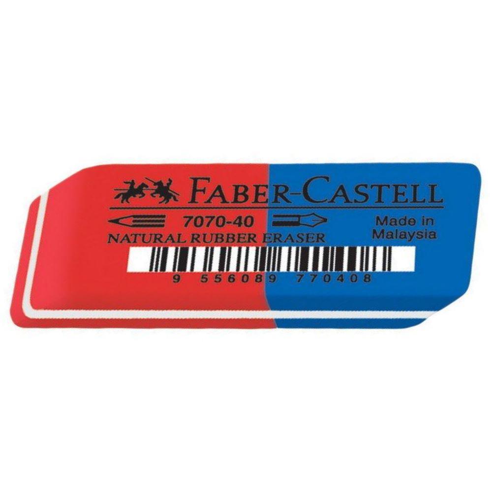 Γόμα Faber 187040 μπλε-κόκκινη μεγάλη