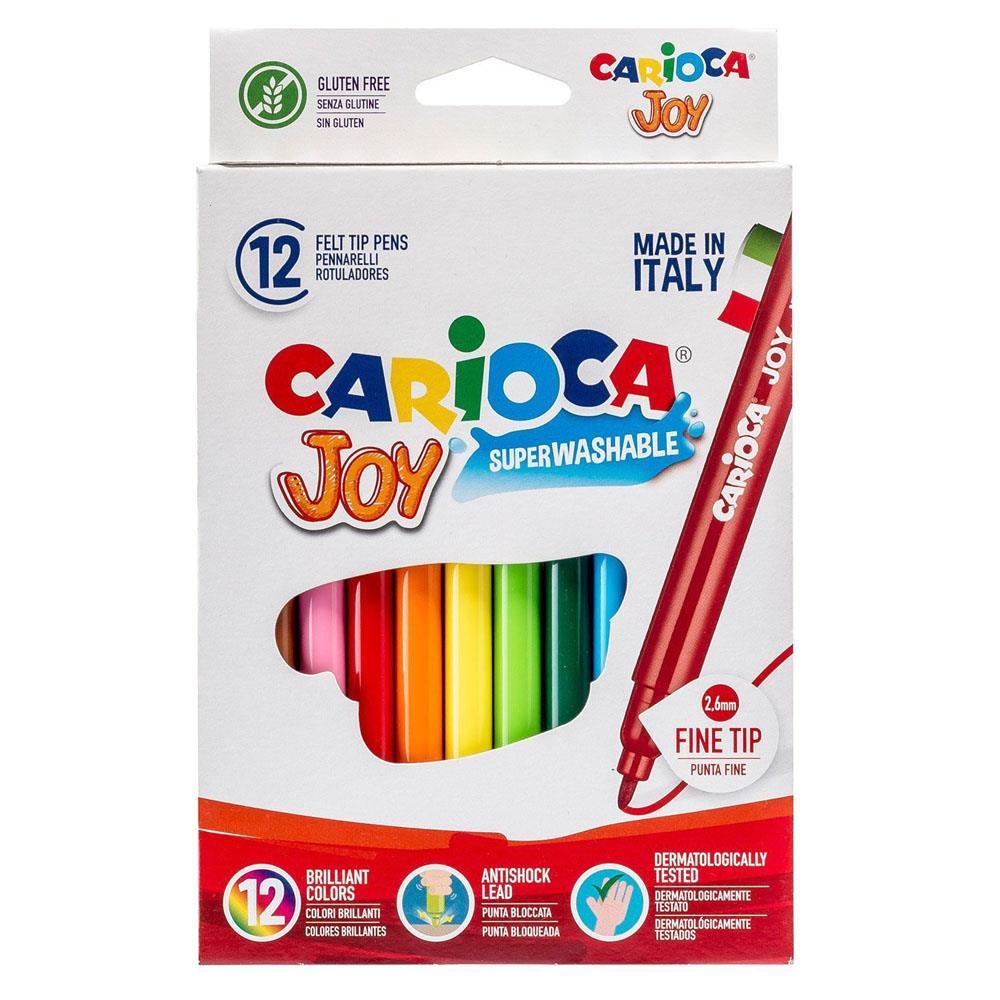 Μαρκαδόροι Carioca λεπτοί 12 τεμ. 40614