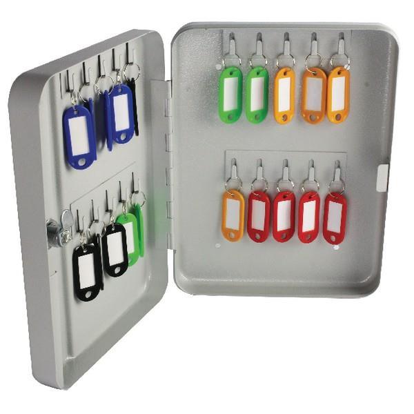 Καμπίνα κλειδιών με μπρελόκ Helix 25 θέσεων 25x20x5 cm