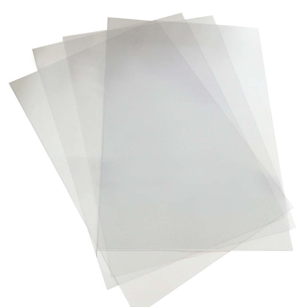 Ζελατίνη εξώφυλλο βιβλιοδεσίας Α4 30 mic ματ πάγου
